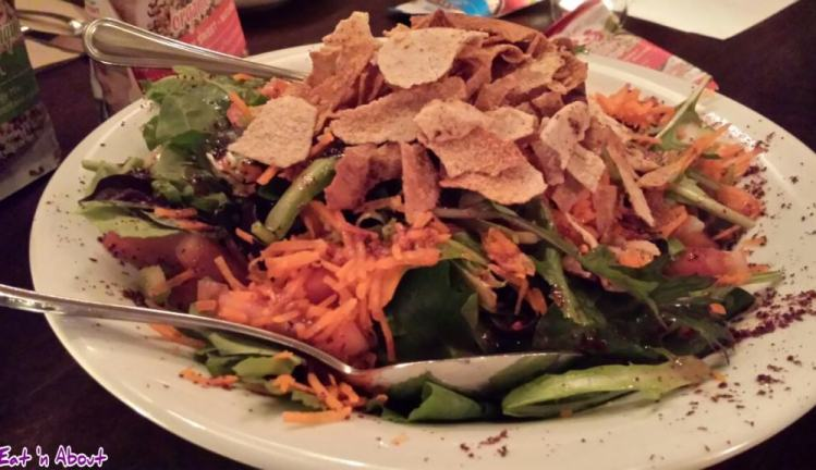 Nuba and Ra Energy: Fattoush Salad
