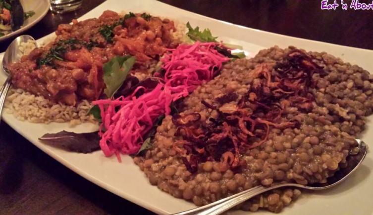 Nuba and Ra Energy: Vegan Stew and Mjadra