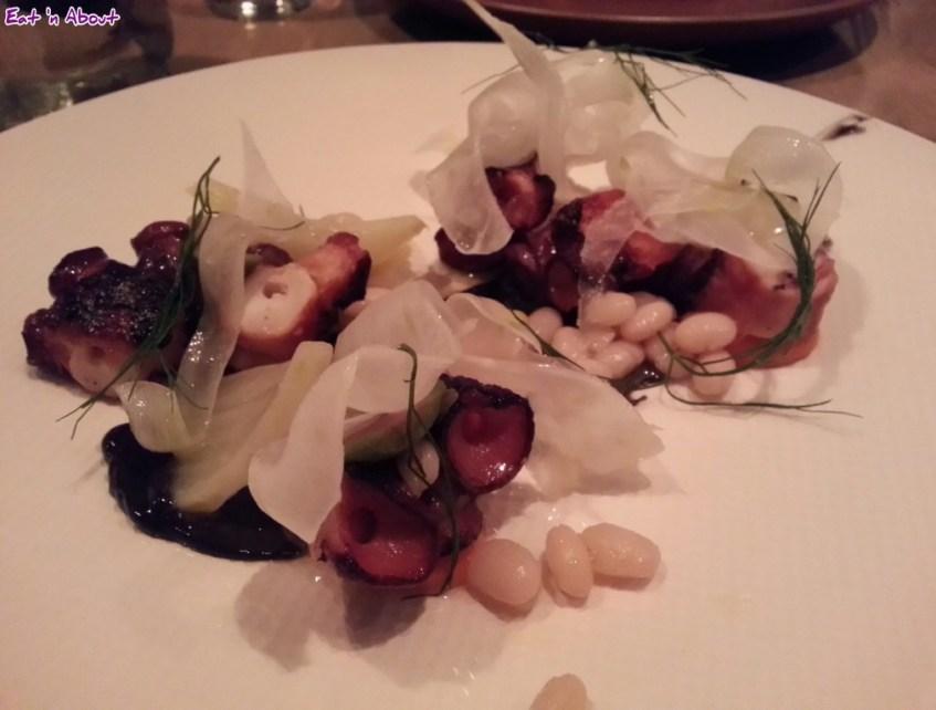 L'Abattoir: Roast octopus and fennel salad