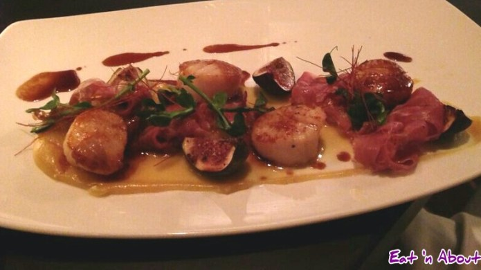 Mosaic Grille: Seared Baja Ocean Wise Scallops