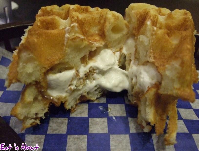 Miura Waffle Milk Bar: Teri-Vani Sando