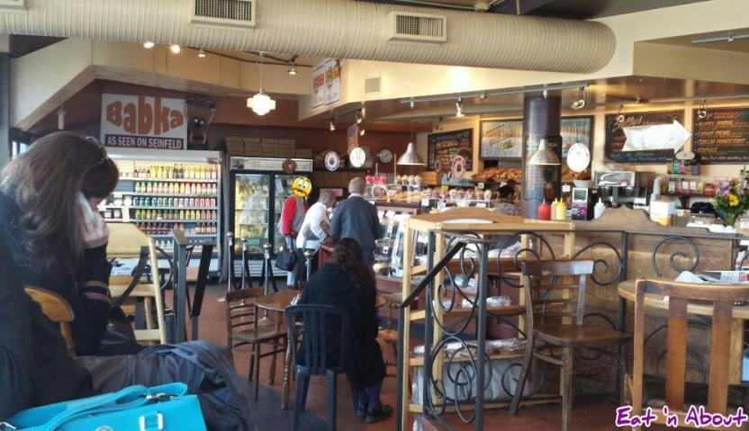 Solly's Bagelry interior