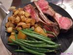 Home-cooking: Easy Roasted Rack of Lamb Recipe (with side dishes)