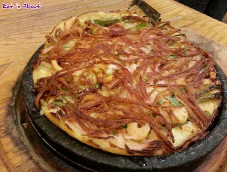 Wang Ga Ma: Seafood Pancake
