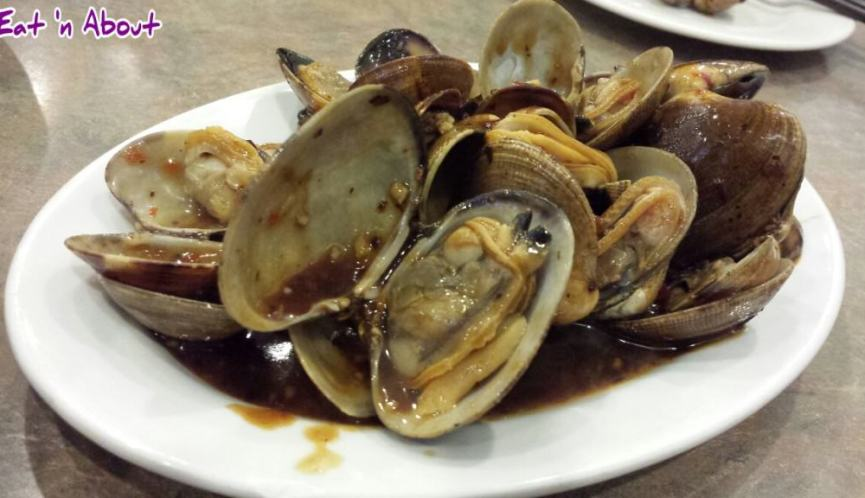 Congee Noodle King Seafood Restaurant: Clams w/ chili & black bean sauce