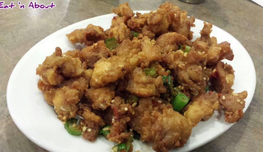 Congee Noodle King Seafood Restaurant: Deep Fried Chicken Soft Bone w/spicy salt