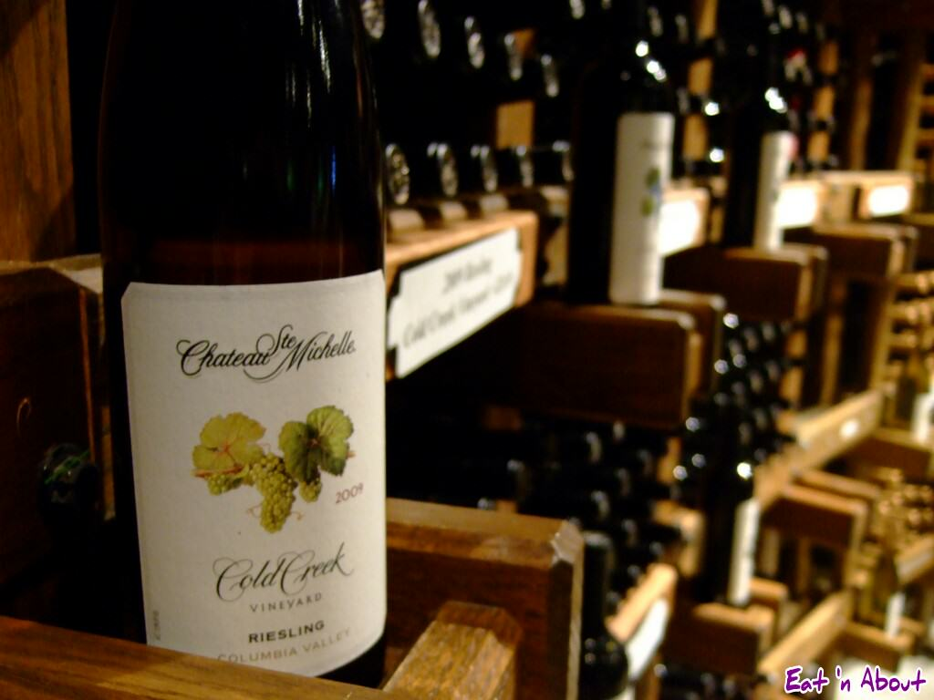 Chateau Ste. Michelle Winery: Cold Creek Riesling