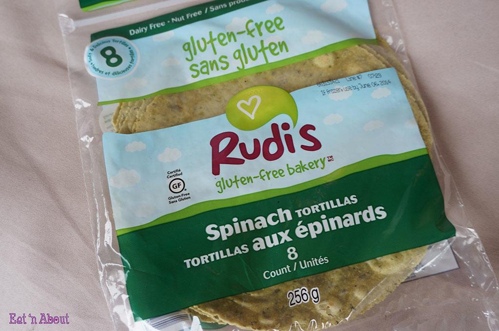 Rudi's Gluten-Free Spinach Tortillas