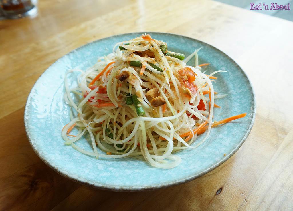 Longtail Kitchen - Som Dtom Green Papaya Salad