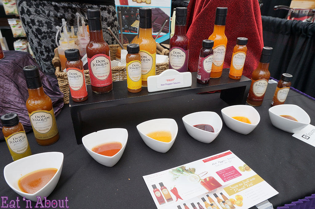 EAT! Vancouver 2014 - Don Joaquin fruit hot sauces