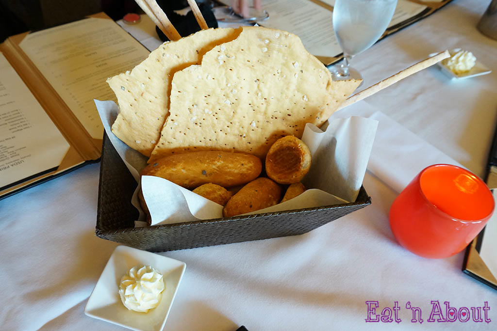 John Howie Steak - bread basket