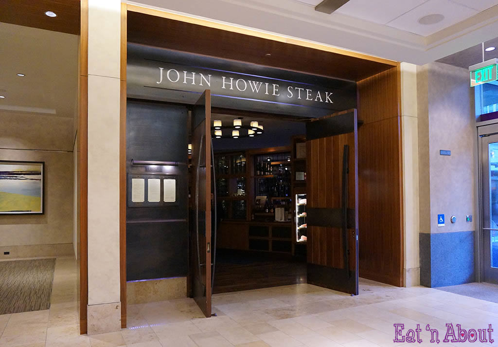 John Howie Steak - entrance
