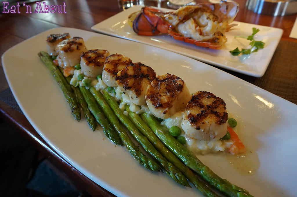 Seasons 52 - Caramelized Grilled Sea Scallops