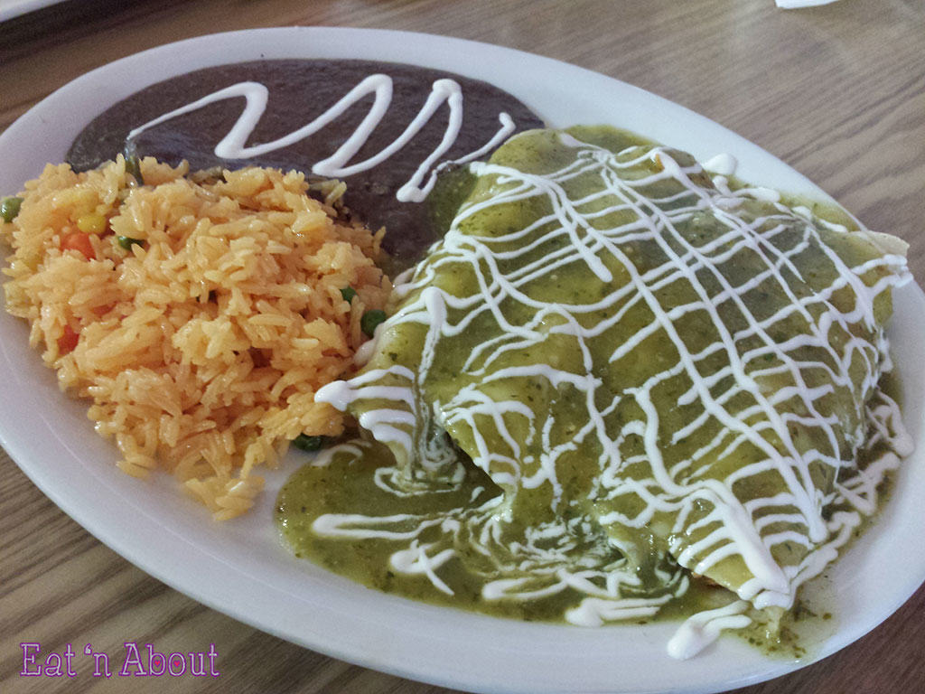 Taqueria Playa Tropical - Enchiladas Verdes