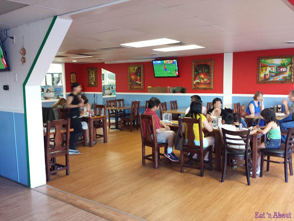 Taqueria Playa Tropical - new interior