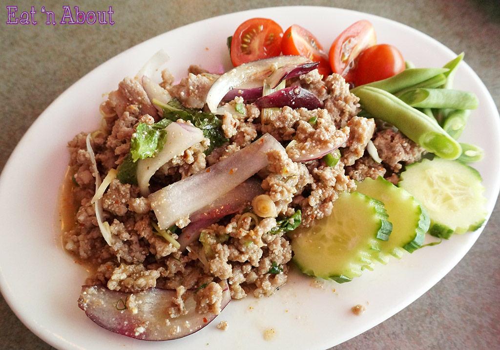 Bob Likes Thai Food - Laab Moo