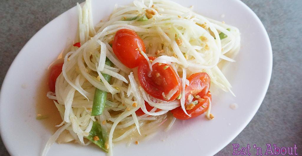 Bob Likes Thai Food - Papaya Salad
