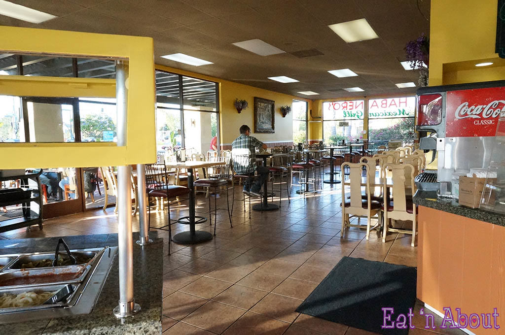 Habanero's Mexican Grill - Seating area