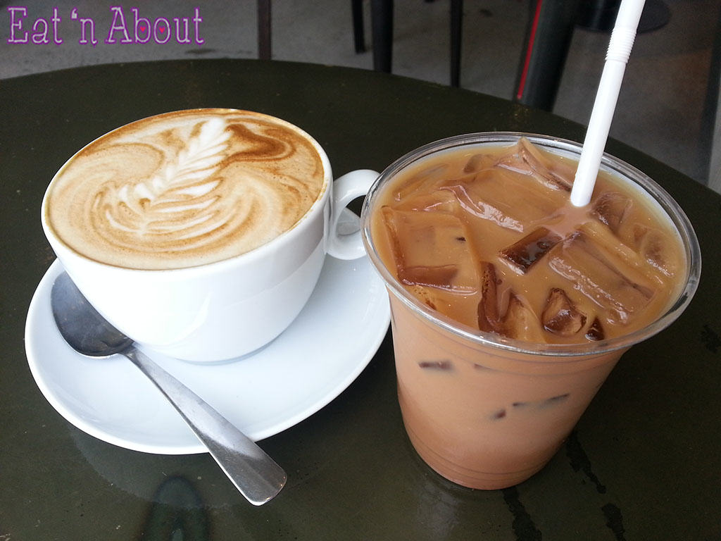 JJ Bean - Soy Latte and Iced Mocha