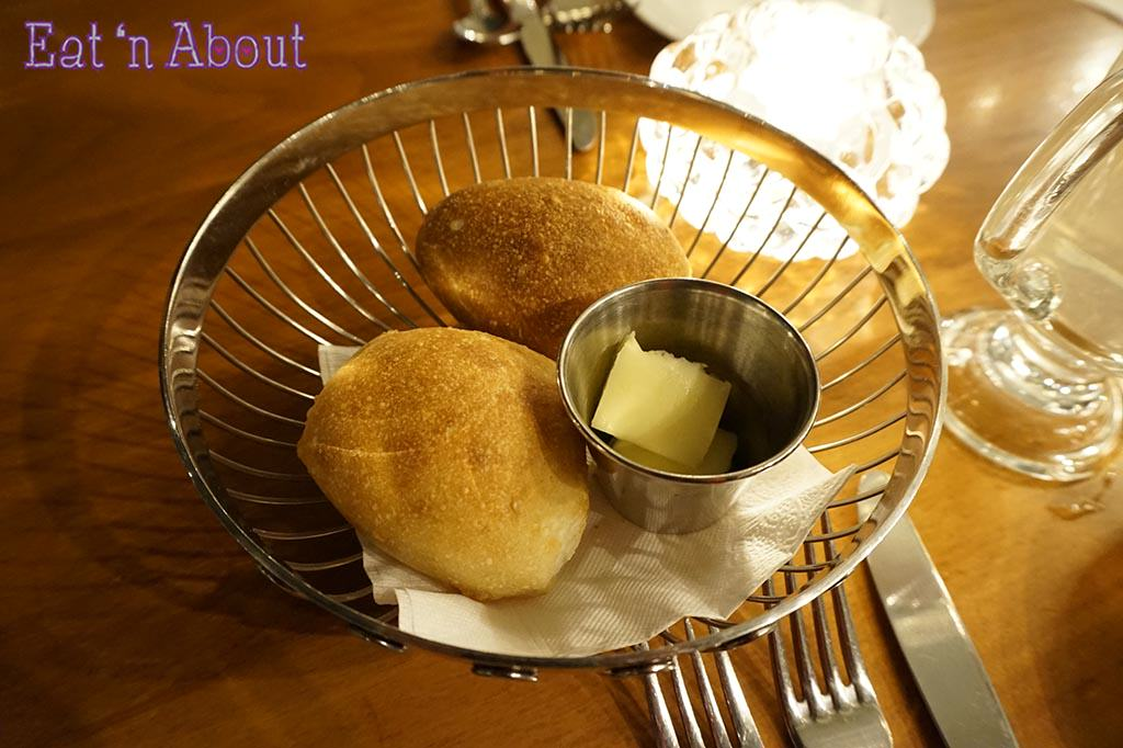Shaughnessy Restaurant - bread basket