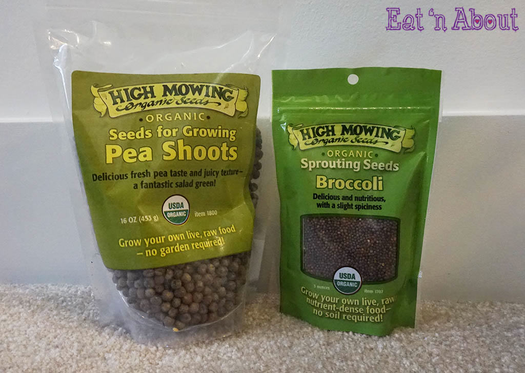 Mercola Sprout Doctor Starter Kit - Pea and Broccoli seeds