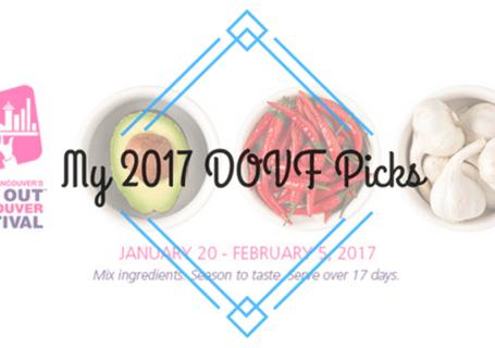 My 2017 DOVF Picks image