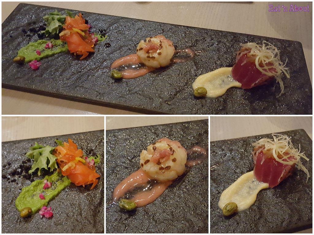 Miku Aburi Sashimi Selection