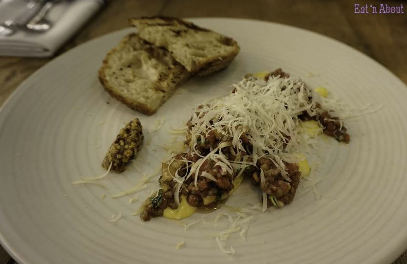 Royal Dinette Wagyu Beef Tartare
