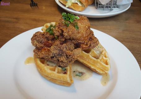 Chewies - Chicken & Waffles