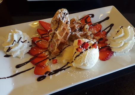 Waffle Gone Wild - Strawberry Heaven Deluxe