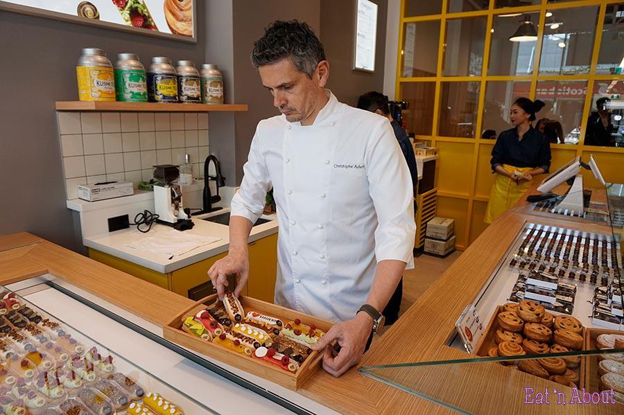 Chef Christophe Adam