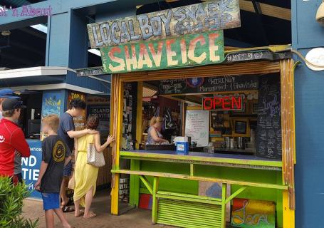 Local Boys Shave Ice - Kihei, Maui