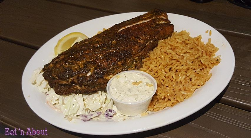Paia Fish Market - Blackened Snapper Dinner