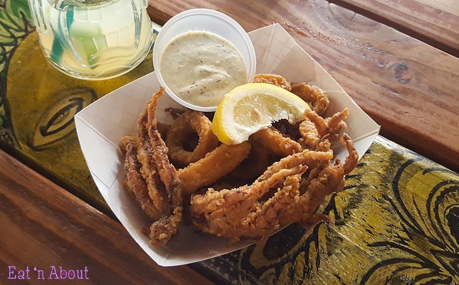 South Shore Tiki Lounge - Happy Hour Calamari