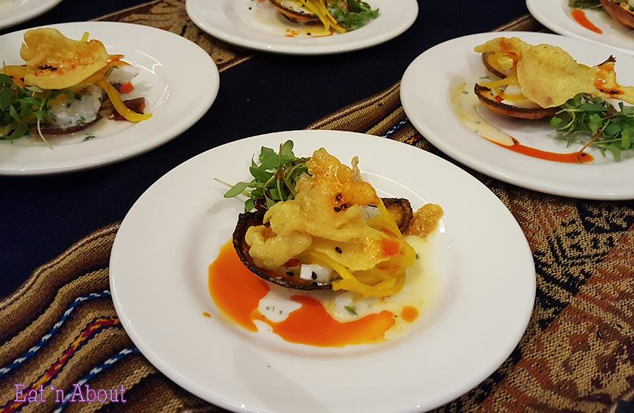 EAT! Harvest - Coconut Scallop Ceviche