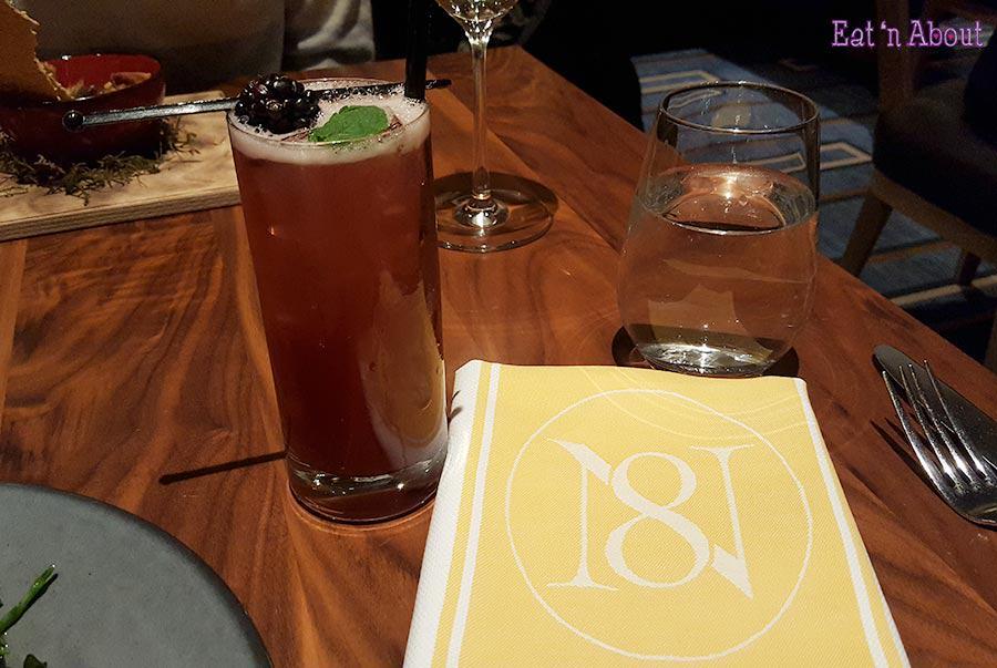 Notch8 Restaurant - Gin Harmonic cocktail