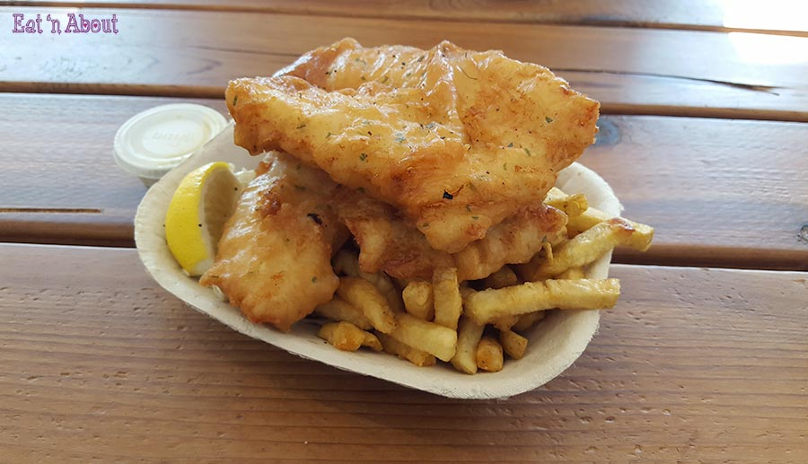 Jigger's Fish & Chips - 2 piece cod