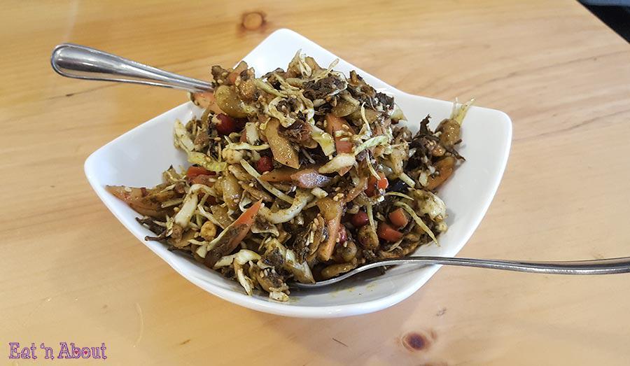 Amay's House - Myanmar Tea Leaf Salad Laphet Thoke