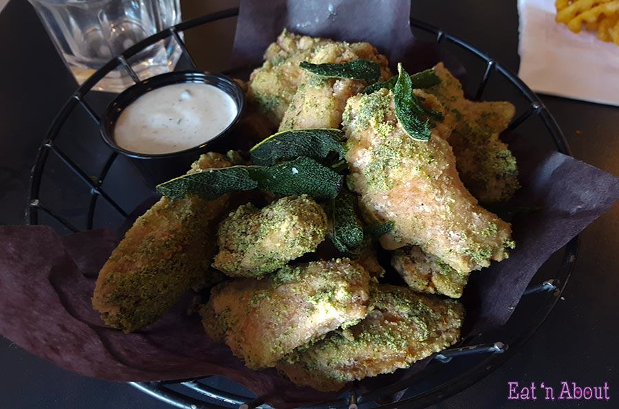 Parallel 49 Brewing Street Kitchen - Rosemary & Sage Chicken Wings