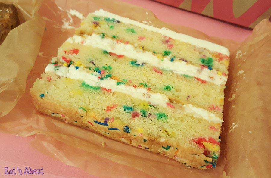 Milk Bar - Birthday Cake slice