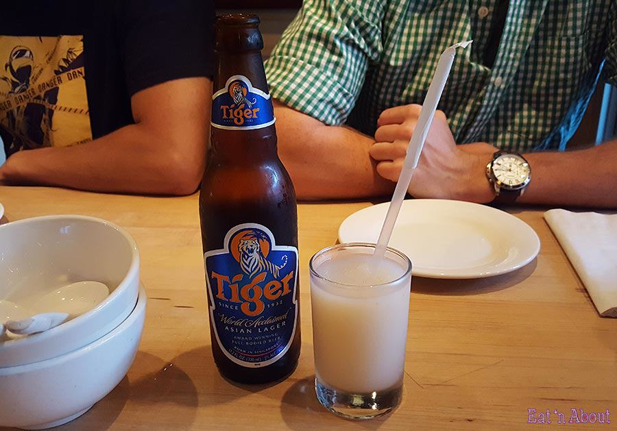 Momofuku Noodle Bar - Tiger Beer & Spicy Lychee Soju Slushie