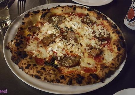 Brunetti Pizza - Meatball Pizza