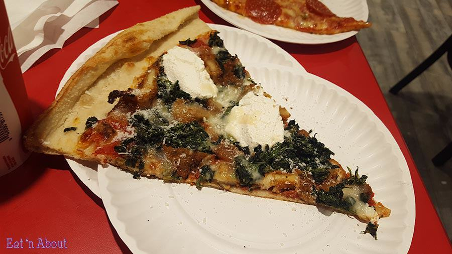 Rose's Pizza - Chicken, Kale & Ricotta