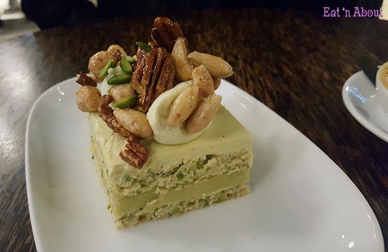 Thierry Chocolates Vancouver - Pistachio Opera Cake