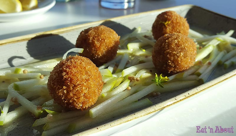 Picture of Pork Croquettes at The Restaurant at Poplar Grove Winery