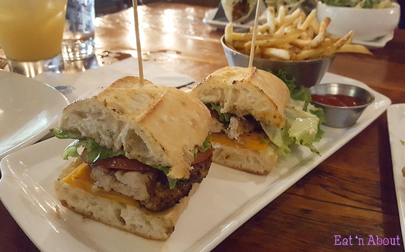 Picture of Salty's Beach House's Jerk Chicken Sandwich