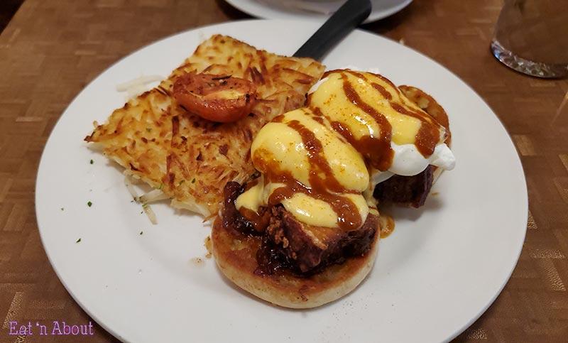 Photo of the Jam Cafe's Pork Belly Benny
