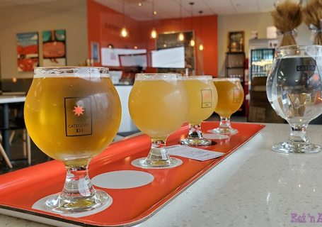 Photo of Category 12 Brewing Beer Flight