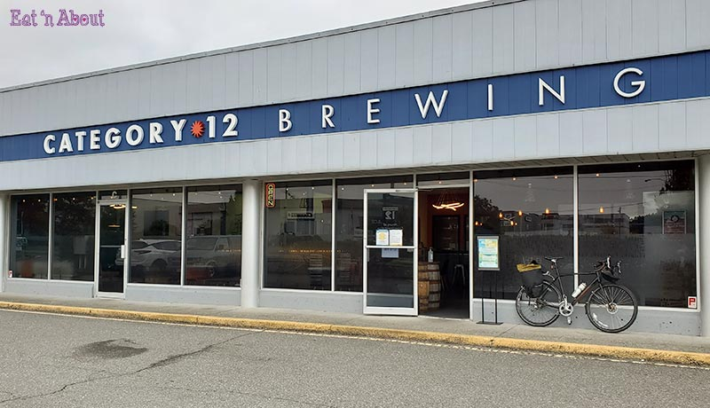 Photo of the outside of Category 12 Brewing