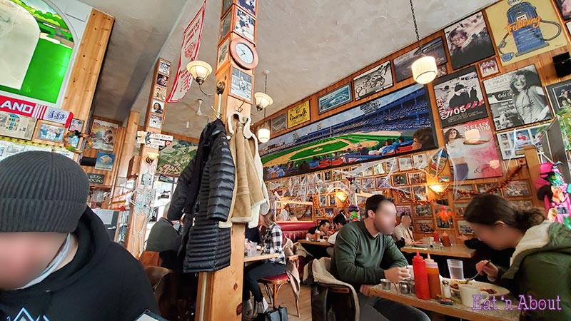 Photo of the inside of John's Place - Victoria, BC